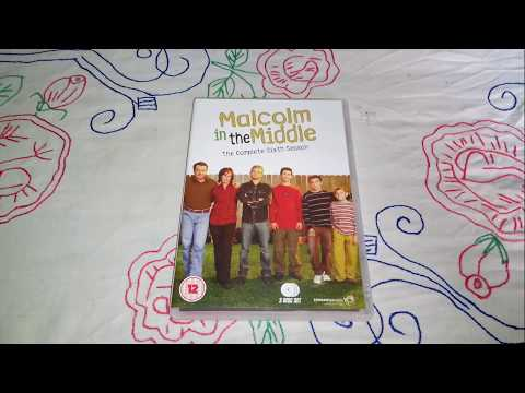 Malcolm in the Middle Season 6 DVD Unboxing