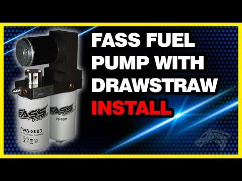FASS Fuel Pump with Drawstraw Install - 2002 Dodge Cummins