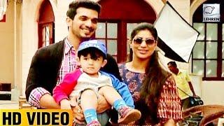 Download Video Arjun Bijlani's Cute Son Ayaan's Fun On Pardes Mein Hai Mera Dil Sets MP3 3GP MP4
