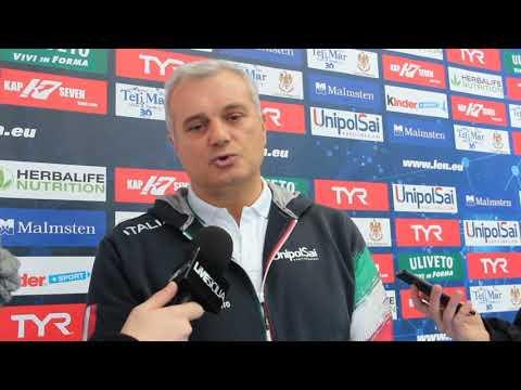 L'Europa Cup a Plaermo: l'intervista al ct Campagna