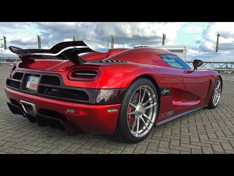 1400HP Koenigsegg Agera R in Action