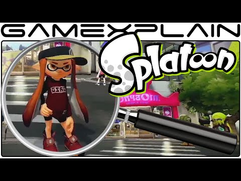 nintendo - http://www.GameXplain.com We analyze the newest gameplay of Splatoon shown during the latest Nintendo Direct to uncover all of its secrets! We take a look at the plaza that will act as the...