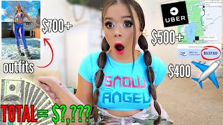 How Much I Spent at a 3 DAY Music Festival | Krazyrayray by Krazyrayray