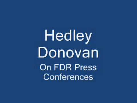 Hedley Donovan - Editor In Chief (Time)