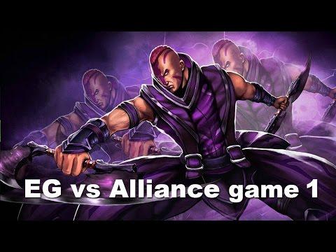 ESL New York - EG vs Alliance Epic Game 1