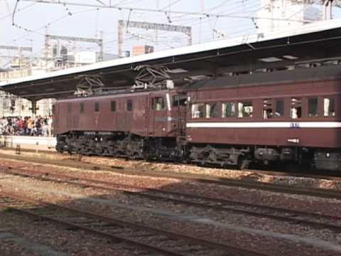 急行 懐かしのEF58&マイテ49 2002.4.27 熊山-万富、岡山駅