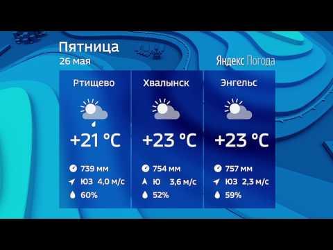 Прогноз погоды на 26.05.2017