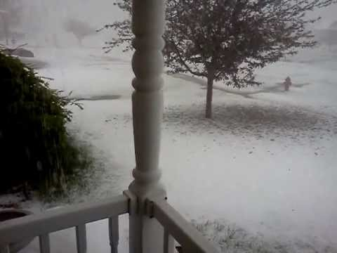 apikultura - I may sound a little over excited in the video, but really, how often do you experience a storm like this.