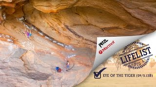 Grampians Australia  city pictures gallery : BIG 4 - Eye Of The Tiger (29/5.13b) - Grampians, Australia