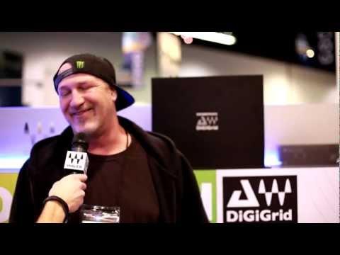 Waves at NAMM 2013: Dave Aron (Snoop Dogg)