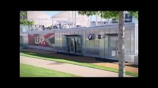 Prokol hotspray aangebracht op BMW Paviljoen Olympische Spelen 2012