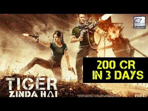 Tiger Zinda Hai Collects 200 Cr In 3 Days | Salman