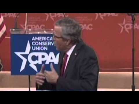 Video: Jeb Bush Survives CPAC, But His Record Still Stands