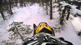 7. ski doo tundra 550f hill climb