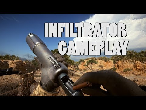 New infiltrator elite gameplay! - Turning tides DLC (видео)