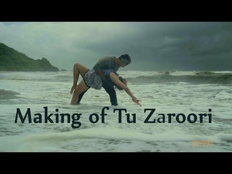 Making of song Tu Zaroori   ZiD   Sunidhi Chauhan   Mannara   Karanvir Sharma