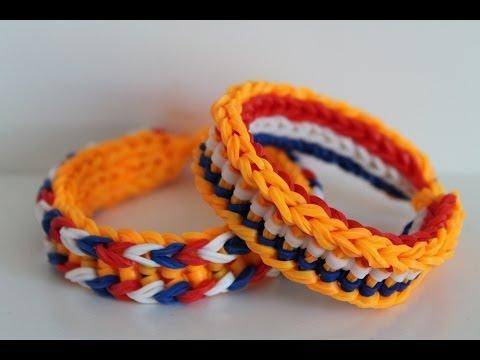 Loch - Dit is momenteel absoluut 1 van mijn favoriete armbanden. Hij is niet moeilijk om te maken maar ziet er verre van simpel uit. Bovendien ook leuk te variëren ...