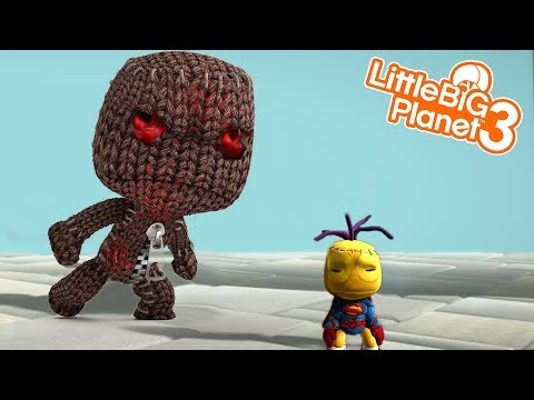 SACKBOY SUICIDE 1, 2 And 3 | LittleBIGPlanet 3 Gameplay (Playstation 4)