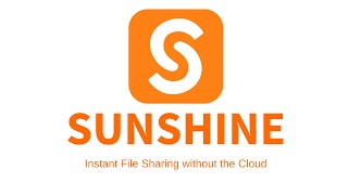 Sunshine (Media Hub, no cloud) YouTube video