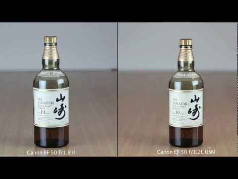 Canon EF 50mm 1.2L lens - A comparison I did of my new and old lens. All shot with standart ISO (I should have turned it a little down) and no further editing. Shot on a Canon EOS 60D...