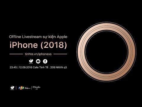 [Live] Tường thuật sự kiện ra mắt Apple iPhone mới