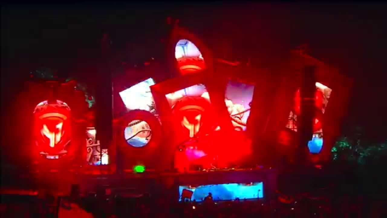 Super Heroes (Laidback Luke, Sunnery James & Ryan Marciano, Dannic) - Live @ Tomorrowland Brasil 2015