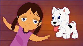 Naai Kutty - Dog  - Children Tamil Cartoon Songs Chellame Chellam Volume 3