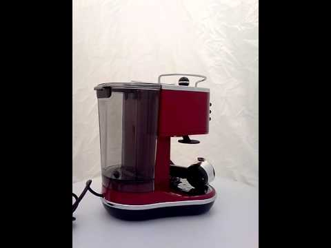 DeLonghi Icona ECO 310.R rot Scarlet Red Siebträger, ECO 310.R