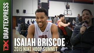 Isaiah Briscoe - DraftExpress Interview - 2015 Nike Hoop Summit