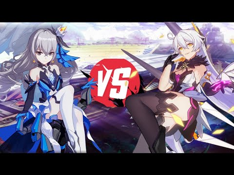 **HERRSCHER OF THE VOID VS. HERRSCHER OF REASON** WHO WILL YOU PREFER?!!! HONKAI IMPACT 3