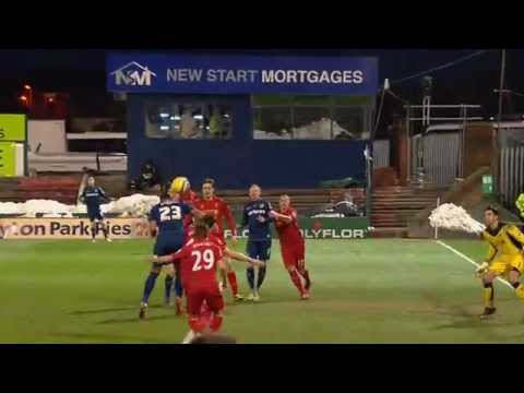 Wabara Goal | Oldham 3-2 Liverpool | The FA Cup 4th Round 2013