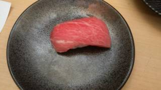 Tuna Belly Sushi, the most expensive sushi I've ever eaten at Rp45,000 a piece WOW! 20082016