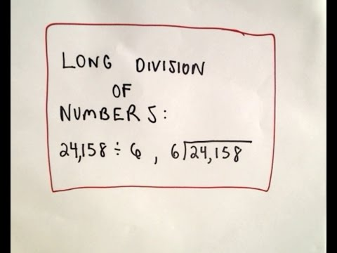 division - I have an ' Arithmetic and PreAlgebra ' playlist if you would like to see more videos like this: http://www.youtube.com/playlist?list=PL9E31BC91F2426928&feat...