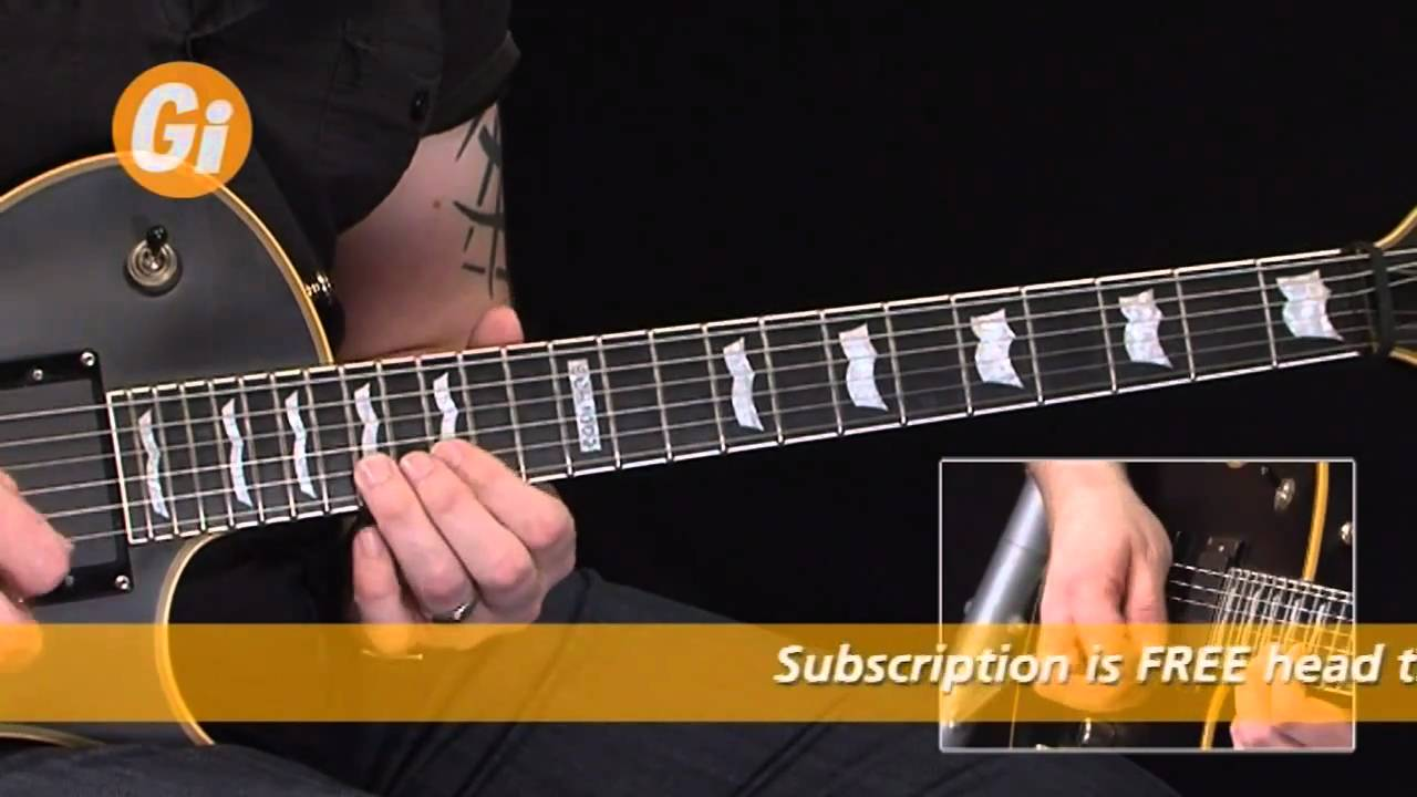 Andy James Guitar Lesson On Pentatonic Scale Shredding – iGuitar Magazine feature