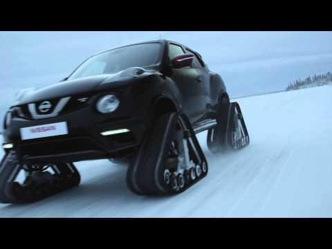 Nissan Rogue轉型改做「履帶」車!