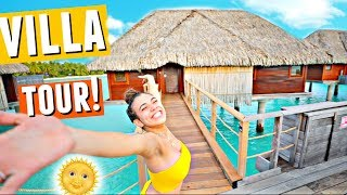 Download Lagu BORA BORA Over-Water Villa Tour!🌴🌞🌊 (This place is unreal) Mp3