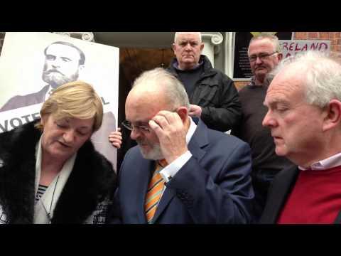 Reposession challenge by Senator David Norris