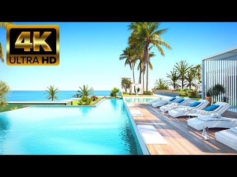 Люкс/150м до пляжа/Новые пентхаусы и квартиры с видом на море около Бенидорма/Новостройки Аликанте