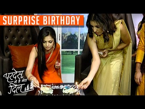 Drashti Dhami SURPRISE BIRTHDAY Celebration On Set