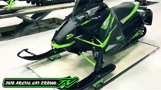 2. Country Cat - 2018 Arctic Cat ZR 8000 Sno Pro 129