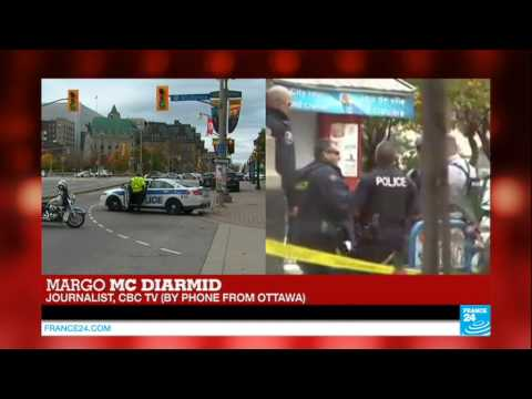 shooting - Ottawa shooting: city in lockdown, police looking for a 2nd gunman.