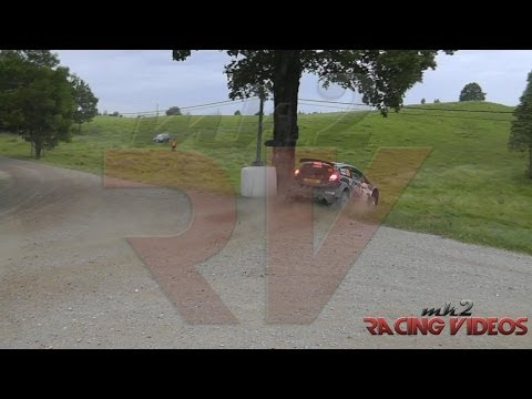 WRC Rally Poland 2014 - Ford Fiesta R5, Rashid Al-Ketbi z przygodą