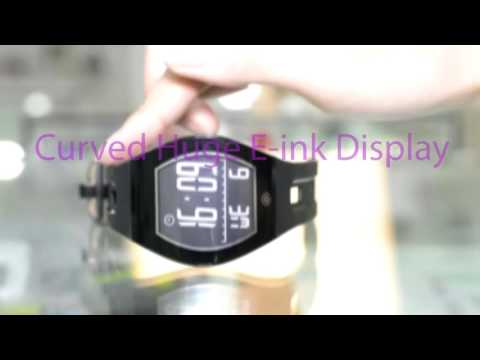 Isport E ink Watch for Marketing