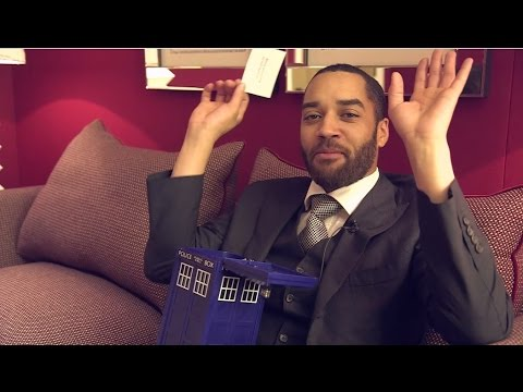 DVD - Sam Anderson, aka Danny Blue, dives into the TARDIS tin to answer more of your questions. Head to the Doctor Who: Countdown to Christmas for a daily festive treat this month: http://bit.ly/DWChris...