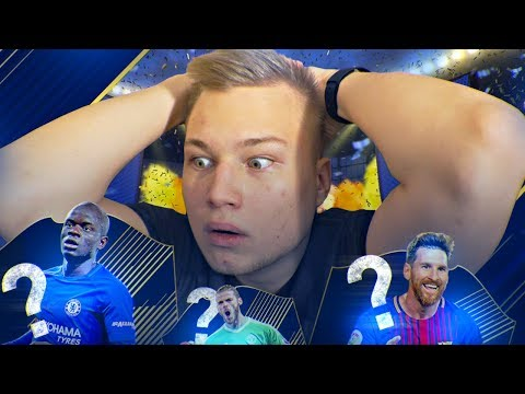 TOTY В ПАКЕ!!! ЛАКЕР ГОДА | BEST PACK IN FIFA 18