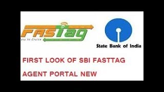 sbi agent fasttag portal first look and view csc fasttag sbi