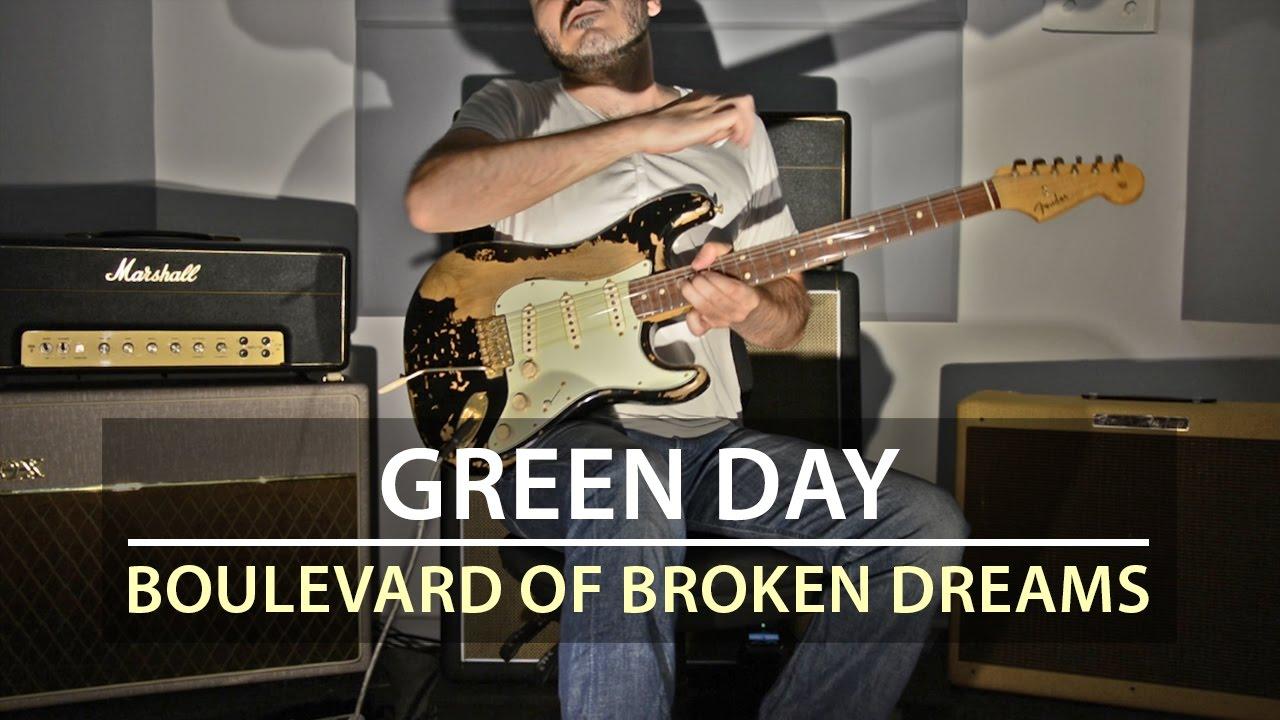 Green Day – Boulevard Of Broken Dreams – Electric Guitar Cover by Kfir Ochaion