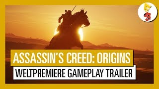 Assassin's Creed Origins: E3 2017 Weltpremiere Gameplay Trailer