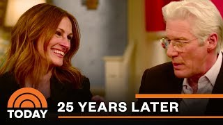 Video 'Pretty Woman' Cast Reunites 25 Years Later | TODAY MP3, 3GP, MP4, WEBM, AVI, FLV Agustus 2019