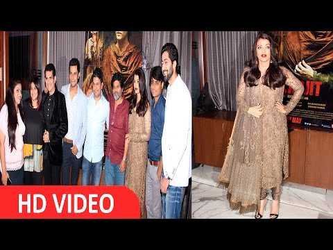 Aishwarya Rai Bachchan At The Success Party Of Film Sarabjit